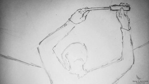 illustration of a woman using a screwdriver
