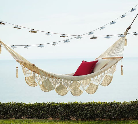 hammock with cushions