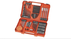 201-piece combination screwdriving and drilling set