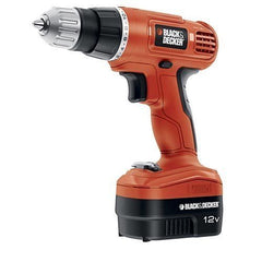 drill black&decker orange