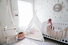 baby swing chair in kid room - style picture