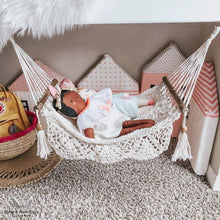 doll's furniture - hammock - pictures in a kids room