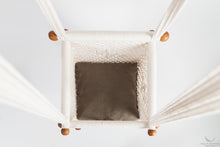Timber & Cotton Baby Swing Chair. 100% Natural. (made on order)