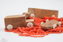 Wooden Vehicles Toys Set