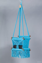 Baby Swing Chair in Turquoise (made on order)