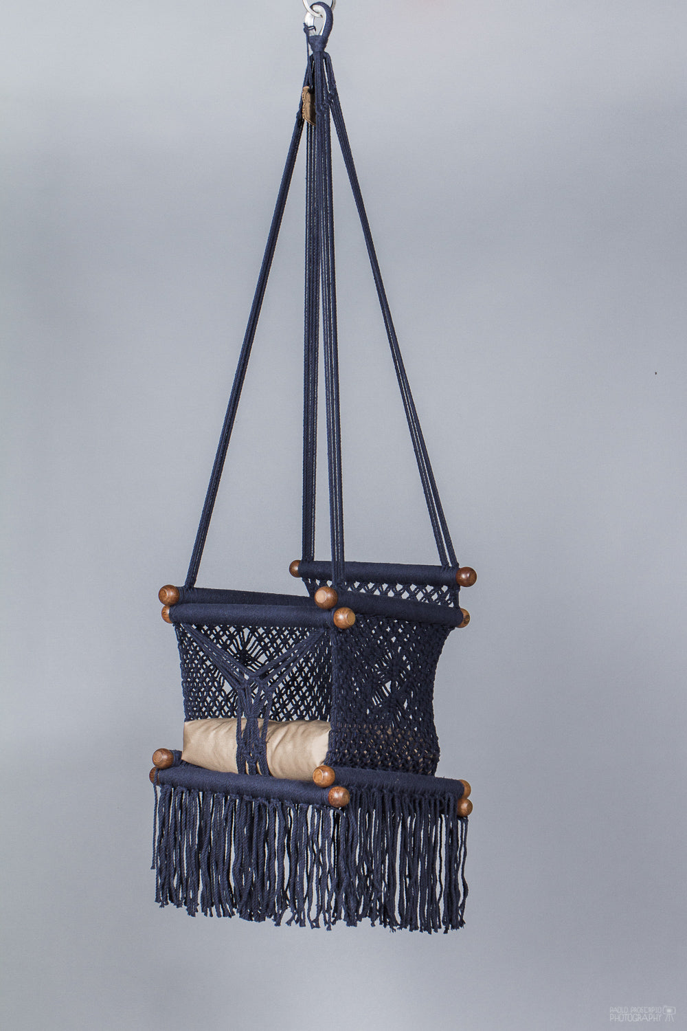 Baby Swing Chair in Dark Blue (last in stock)