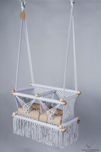 Twins Baby Chair - GREY AND KHAKI CUSHIONS