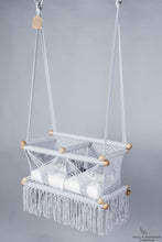 Twins Baby Chair - GREY AND CREAM CUSHIONS