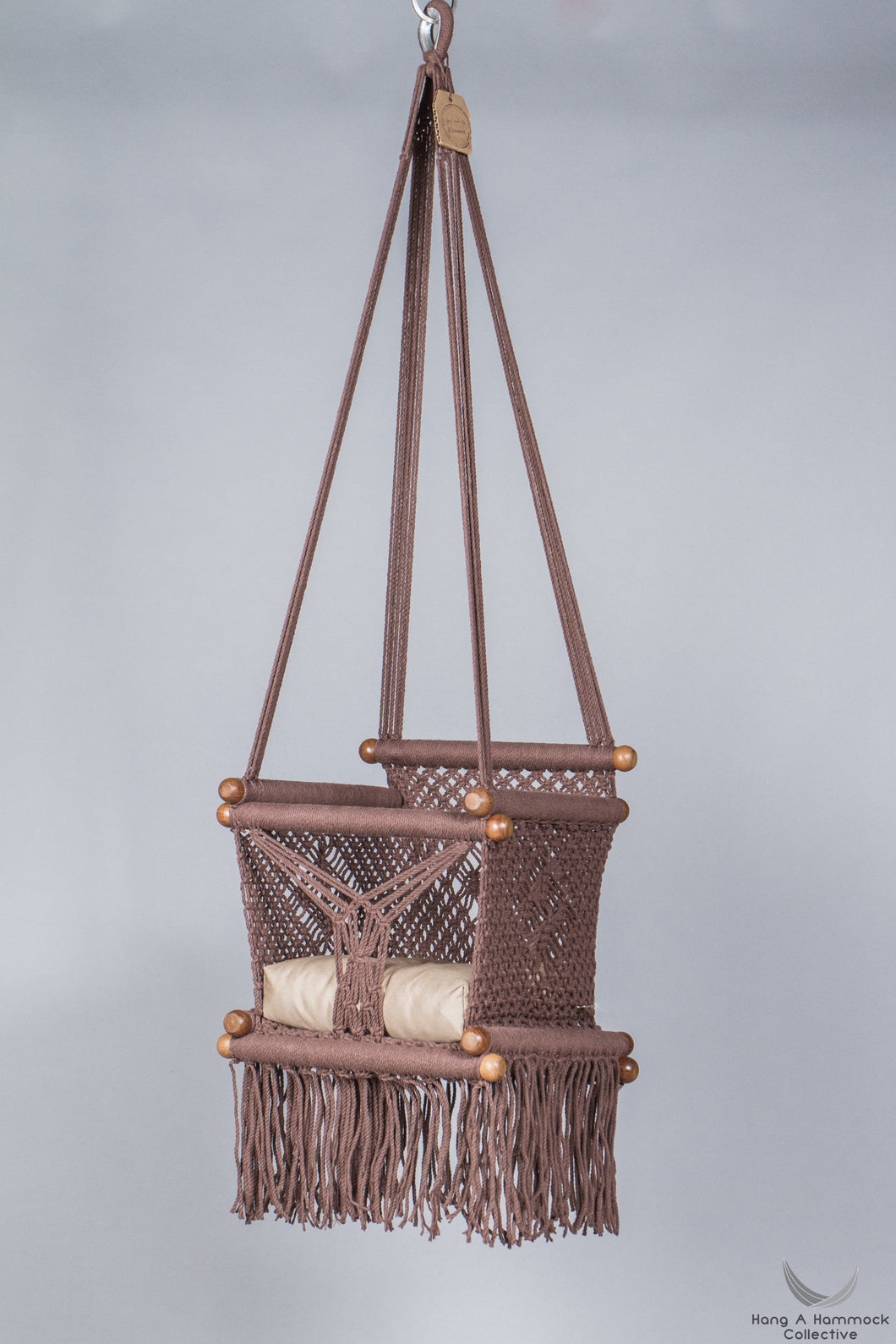 Baby Swing Chair in Brown