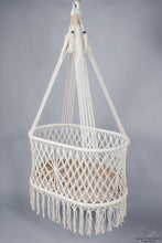 handmade hanging cradle - studio picture