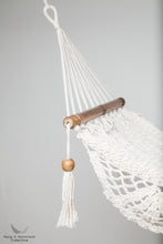 doll's furniture - hammock - pictures in a studio - detail