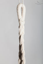 Braided Rope Swing - detail of the hook - professional picture - white backgorund