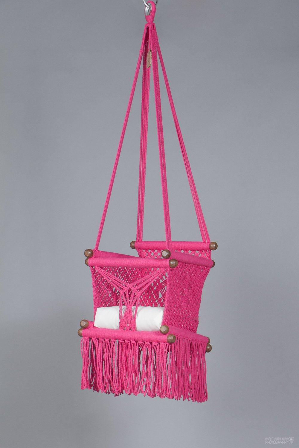 Baby Swing Chair in Hot Pink (made on order)