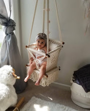 Baby Swing Chair in Cream