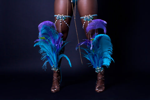 YEMAYA BACKLINE ADDITIONAL OPTIONS - Feathered Legs