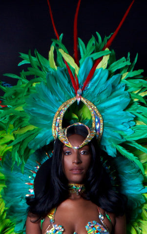 OSUMARE ADDITIONAL OPTIONS - Feather Headpiece
