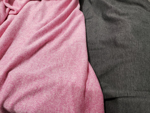 Pink and charcoal ♡ On My Sleeve - WB Wears