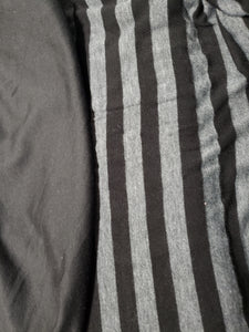 Grey Black Stripe ♡ On My Sleeve - WB Wears