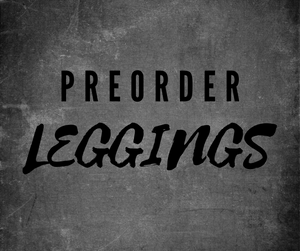 Preorder Leggings - WB Wears