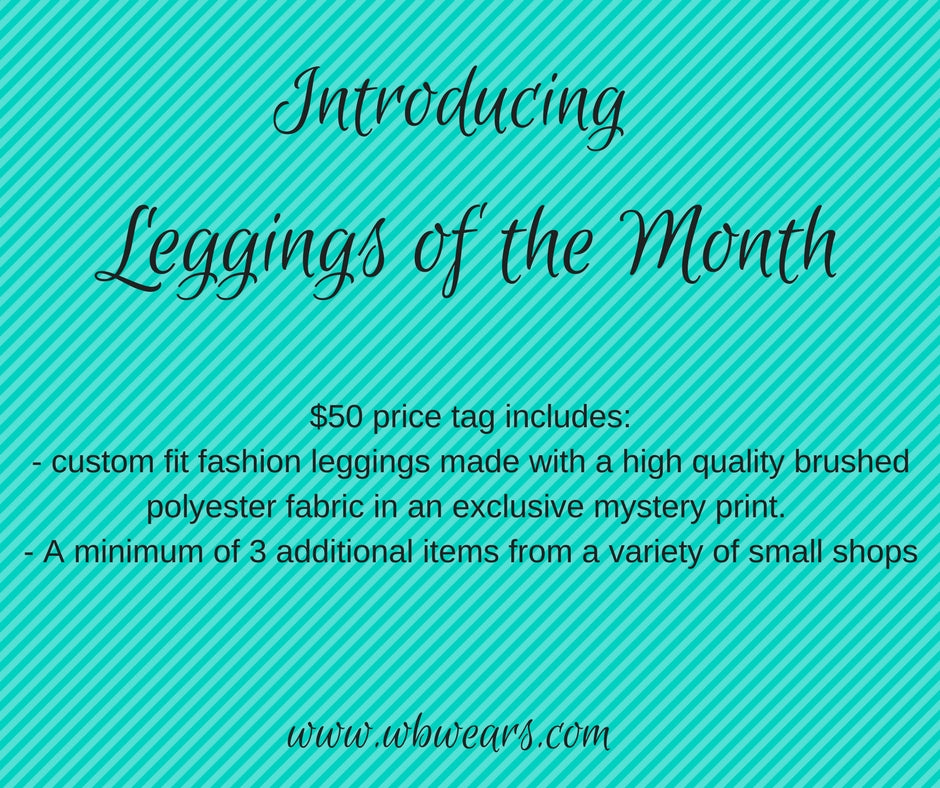 January 2018 Mystery Leggings of the Month - WB Wears