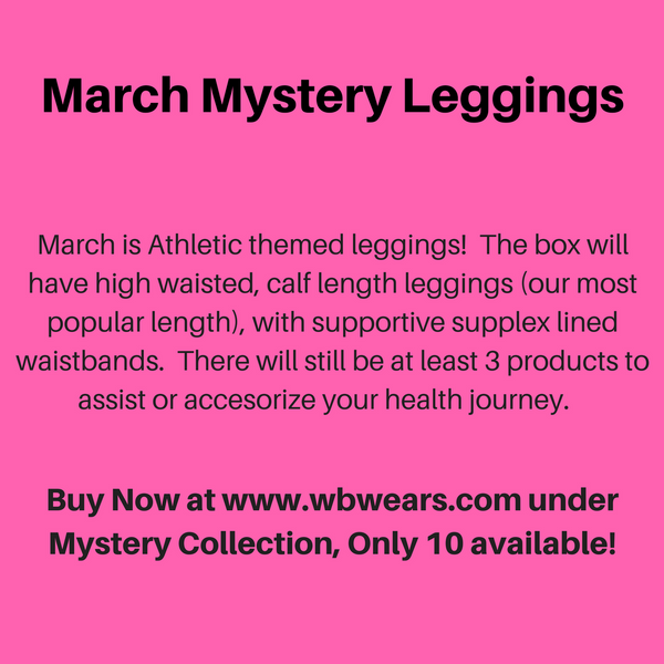 March Mystery Leggings - WB Wears