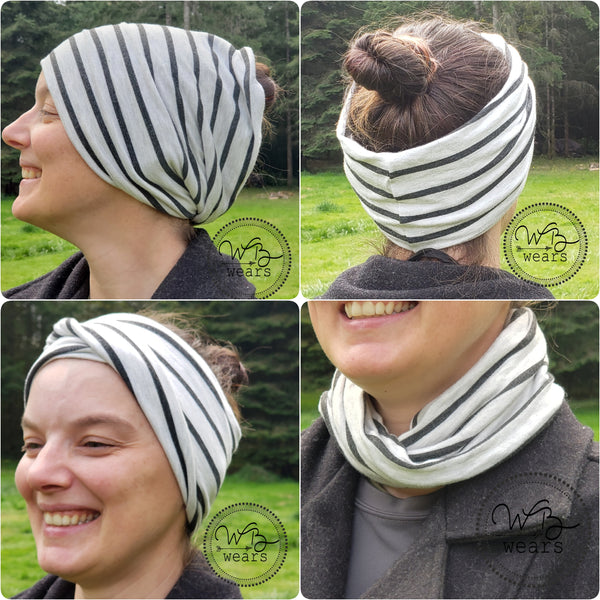 Snowflake headwrap - WB Wears
