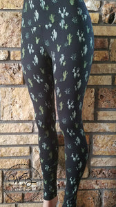Cactus leggings - WB Wears