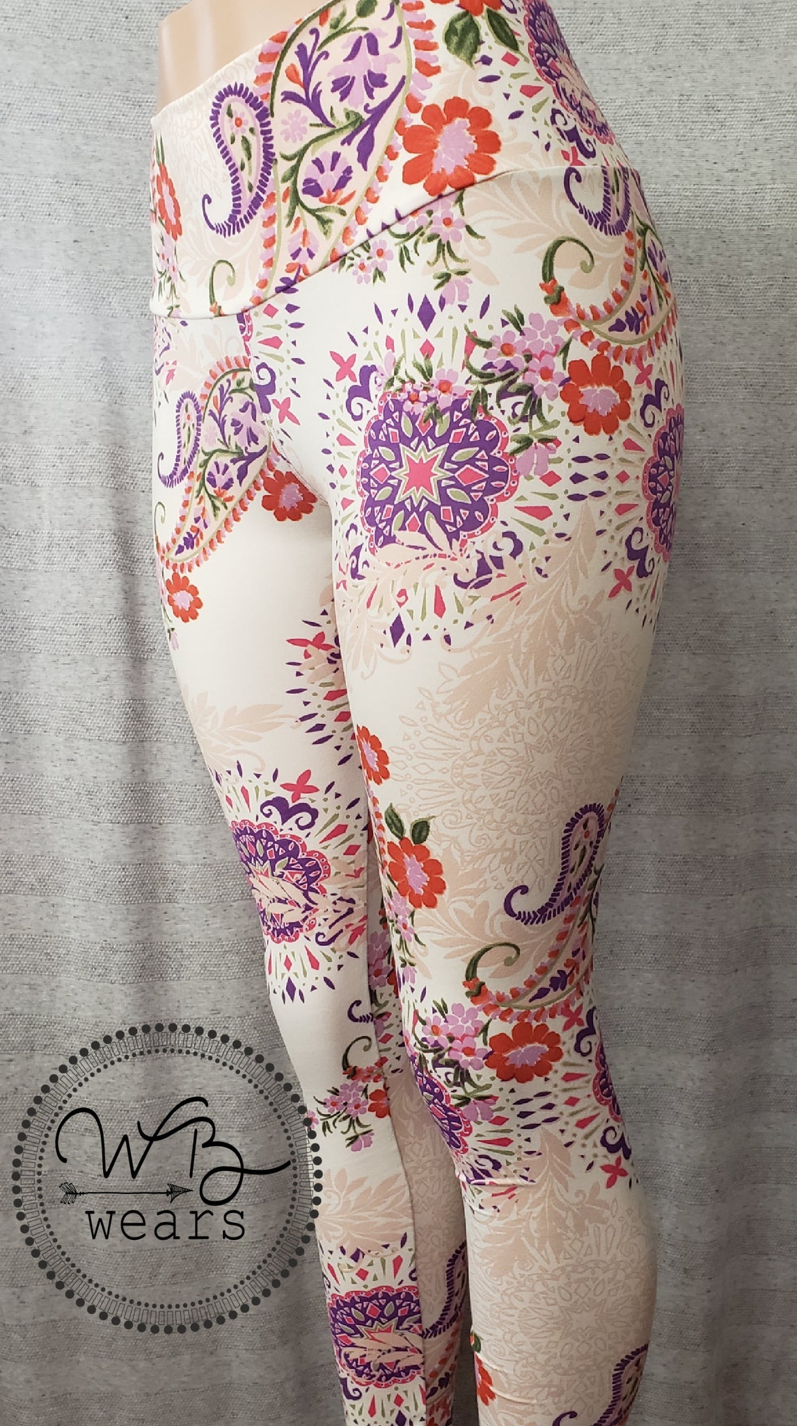 Paisley leggings - WB Wears
