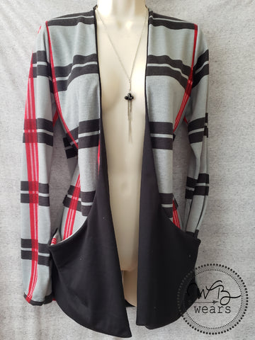 Drop Pocket Cardigan size Med - WB Wears