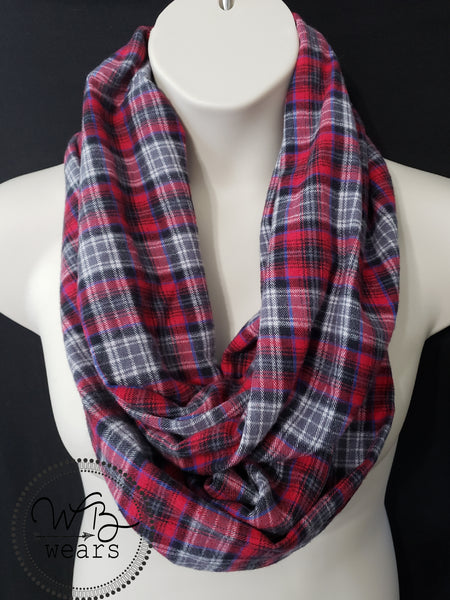 Hidden pocket infinity scarf - WB Wears