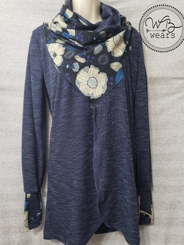 Scarf Neck Cardigan Size L - WB Wears
