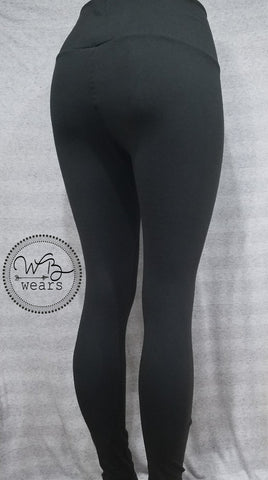 Basic Black Leggings - WB Wears