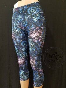 Lace Series Athletic Leggings - WB Wears