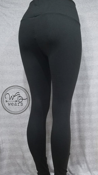 Cotton Spandex Fashion Leggings - WB Wears