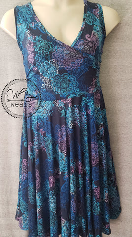 Wrap front dress ~ size XL