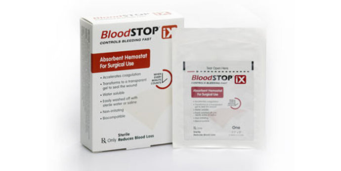 BloodSTOP® iX Advanced Hemostat - 2 x 4 Inch Box of 12