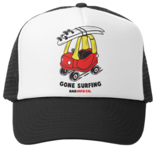 GONE SURFING | Trucker - RAD MFG Co.