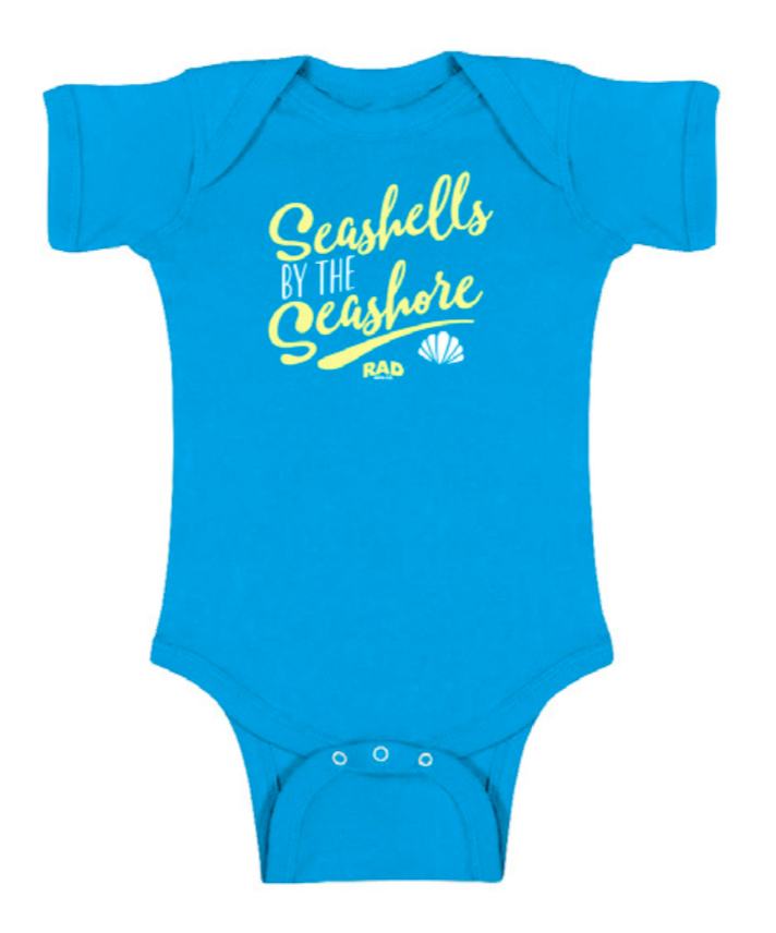SEA SHELLS | Onesie - RAD MFG Co.