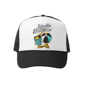 TOTALLY BEACHIN | Trucker - RAD MFG Co.