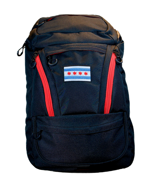 Cooler Backpack with City of Chicago Flag