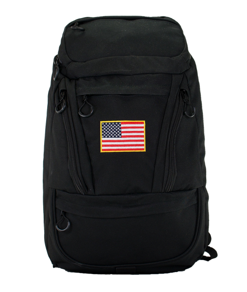 Cooler Backpack with American Flag