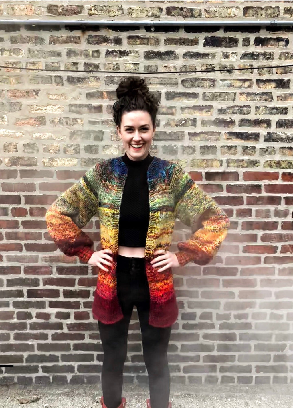 ROY G BIV sweater pattern