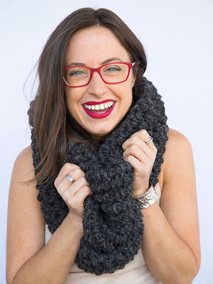 The Abington Infinity Scarf ** Crochet Pattern**