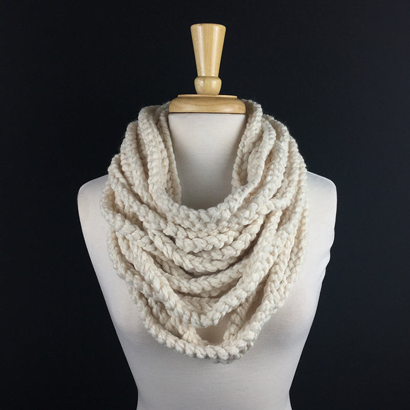 The Chain Scarf **Crochet Pattern**