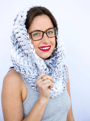 Harvard Cowl **CROCHET PATTERN**
