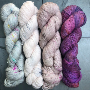 4 Skein Fade on Twisted Sister