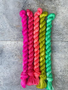 Five Pack of Mini Skeins