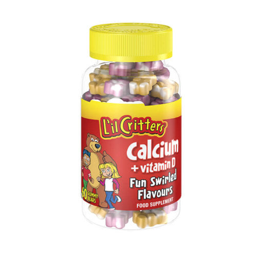L'il Critters Calcium and Vitamin D 60 bears