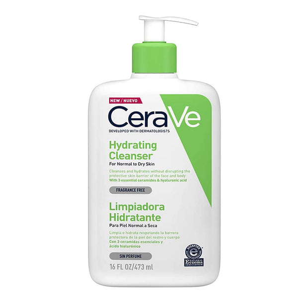 Cerave Hydrating Cleanser 473ml Normal to Dry skin