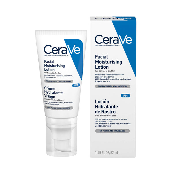 Cerave Facial Moisturising Lotion PM for Normal to Dry skin 52ml